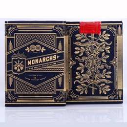 Wholesale poker playing cards deck - Monarch Deck Playing Cards Magic Category Poker Cards for Professional Magician