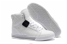 Wholesale Silver Hip Hop Shoes - Wholesale-Men ' s casual shoes Justin bieber hip hop zapatos hombres zapatos marcas ocasionales high top zapatos de hombre talla 41-47
