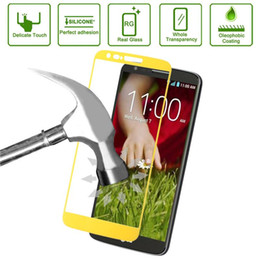 Wholesale Dream Mobile Phone - Link Dream 0.33mm Explosion-proof Tempered Glass Film Screen Protector + Mobile Phone Holder for LG G2