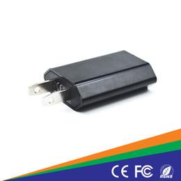 Wholesale Ipad Mini Power Dock - 5V 1A Universal EU US wall chargers Plug Slim USB Wall Charger AC Power Adapter for iphone 4 5 6S ipad mini ipad2 USB Chargers cell phone