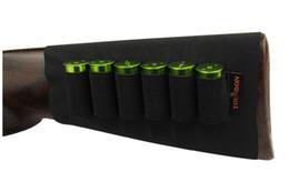 Tourbon Tactical Hunting 6 Munizioni Round Shotgun Shell Buttstock Holder Colore nero Caccia Gun Accessories all'ingrosso da