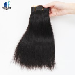 Wholesale Off Virgin Hair - 400g Natural Off Black Color 1B Remy Hair Bundles Silky Straight Body Wave Deep Curly Quality Unprocessed Brazilian Virgin Human Hair Weave