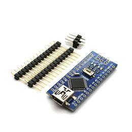 Tableros de arduino online-Placa compatible del controlador Nano 3.0 Atmega328 para la placa de desarrollo de PCB del módulo Arduino sin usted