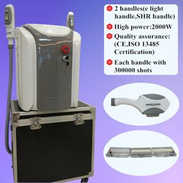 Wholesale Beauty Care System - New Powerful Hair Removal System IPL SHR Elight OPT shr skin care rapid hair removal beauty machinemachine