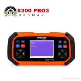 Wholesale Online Odometer - Hot OBDSTAR X300 PRO3 Key Master OBDII X300 Key Programmer Odometer Correction Tool EEPROM PIC Update Online DHL Free