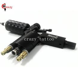 Wholesale Nedz Tattoo Gun - Wholesale- Newest NEDZ Rotary Tattoo Machine NEDZ Style Black Color Tattoo Machine For Shader Liner Tattoo Motor Gun Free Shipping