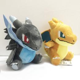 "Wholesale 16cm Stuffed Animal - New Pocket Monste XY Charizard Pikachu Plush Toys Stuffed Doll Children kids Christmas Gifts (4pcs Lot - Size: 6.5"" 16cm )"