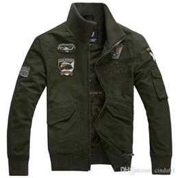 2020 más el tamaño de cuello de mandarina ropa Los hombres casual chaquetas del invierno del otoño más el tamaño 4XL moda chaqueta de bombardero de largo envuelta abrigos Hombre Ropa más el tamaño de cuello de mandarina ropa baratos