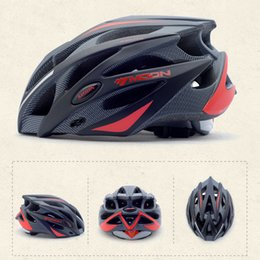 Wholesale Bicycle Helmets Moon - Moon Cycling Helmet Ultralight And Integrally Molded Professional Bicycle Helmet 275g 25 Holes Size M 55-58cm L 58-61cm