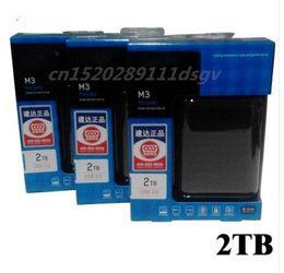 "Wholesale Portable 1tb - Wholesale- hot! Hard disk M3 1TB 2 TB 2.5 ""3.0 Portable USB Hard Drive HDD Black External Hard drives 3 Year giant free shipping"