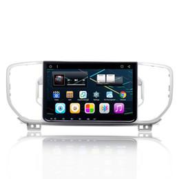"Wholesale Car Dvd For Kia Sportage - 9"" Touch Screen Android 6.0 System Car DVD Radio For Kia Sportage 2016+With 1G RAM 16G ROM GPS Navi BT 4.0 WIFI 4G OBD Mirror Screen SWC AUX"