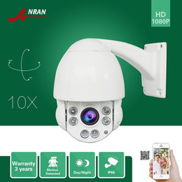 "Wholesale Outdoor Ptz Dome Camera Ir - Onvif HD 1 3""SONY Sensor 1080P PTZ 10XZoom Array IR IP66 Waterproof Dome Outdoor Home Security CCTV IP Camera 5mm-50mm Lens"