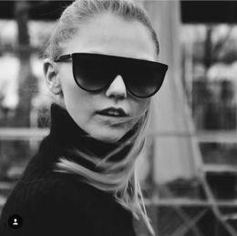 2019 occhiali da sole sottili Designer Lady THIN SHADOW 41435 / S occhiali da sole sfumati arancio scuro / marrone Brand New With Case Brand New With Case occhiali da sole sottili economici