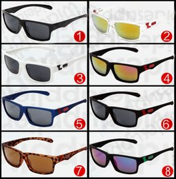 Wholesale frameless spectacles - FAST FREE sports spectacles Bicycle Glass 11 colors big sunglasses sports cycling sunglasses fashion dazzle colour mirrors 8894