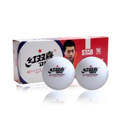 Wholesale Dhs Stars - Wholesale- 20 balls set new material DHS 1 star 40mm+ Pingpong Balls Seam Table Tennis Balls 82011