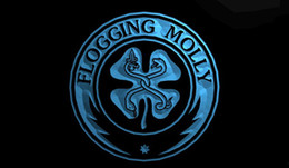 Wholesale Neon Shamrock Light - LS1460-b-Flogging-Molly-Shamrock-Neon-Light-Sign.jpg
