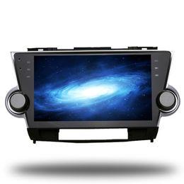 Wholesale Toyota Dvd System - For Toyota Highlander Kluger Android 6.0 Octa Core Autoradio Car Radio Stereo GPS Navigation Multimedia Media System Sat Nav NO DVD
