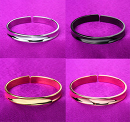 Wholesale Hair Tie Jewelry - 2017 Hot Selling Novelty Hair Tie Bracelet Cuff Bangles For Women's Jewelry Hair Tie Holder Stainless Steel Open Bangle