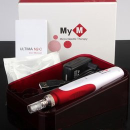 Wholesale Derma Roller Skin Care - Mym Electric Derma Pen Micro Needle Therapy Derma Roller Dr. pen ULTIMA N2-C MTS PUM Skin Care