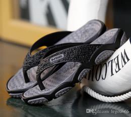 Wholesale Platform Flip Flops Men - Nice Mens Sandals Casual Summer Slippers Shoes Men Lesiure Rubber Platform Sandals Beach Flip Flops For Men Sandalias Mujer G151