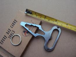 escolha a ferramenta renault Desconto Fácil Carry Ferramenta de Proteção de Auto-Defesa Abridor de Garrafa de Aço Inoxidável Combinação Pessoal Chave Auto-Defesa Suprimentos