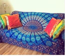 Wholesale Beauty Mats - New Summer Indian Mandala Bedspread Tapestry Shawl Wall Hanging Bohemian Ethnic Throw Beauty Wall Decor Beach Towel Big Bed Cover Yoga Mat