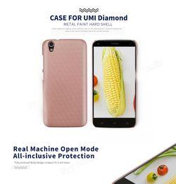 "Wholesale Diamond Mobile Phone Cover - ocube UMI Diamond Luxury Back Cover Case Hard PC Protective Case Cover For 5.0""UMI Diamond Smart Mobile Phone"