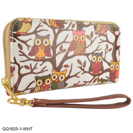 Wholesale Cheap Ladies Clutch Bags - Clearance Sale Brand Women Wallets Cartoon Clutch Bag Casual Colorful Cheap Credit Card Package Ladies Purse Long Preppy Style QQ1625
