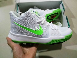 Wholesale Down Lights Kit - Kyrie 3 K.A.R.E. Kit Basketball Shoes Mens Kyries 3 BHM Black History Month Flip The Switch Samurai Sneakers Size 7-12