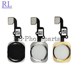 pieza llave Rebajas 10 unids / lote para iphone 6 6g 6 más Tecla de botón de inicio flexión del ensamblaje del cable para el iphone 6s 6s plus