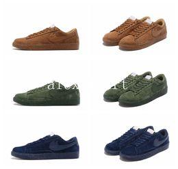Wholesale Cheap Women Blazer - 2016 Fashion BLAZER LOW PRM VNTG Running Shoes Men Women Ancient retro Cheap Walking Boots Men Women Sport Shoes Size US5.5-10