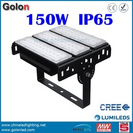 Wholesale Led Driver Watt - Wholesale- Waterproof LED high bay light 150W Meanwell driver for tennis court free shipping led lights for warehouse highbay 150 watts LED
