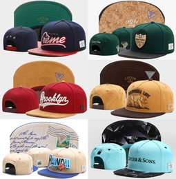 Wholesale Wholesale Fashion Army Hats - Wholesale High Quality Cayler & Sons Snapback Caps for men and women baseball caps sports fashion basketball hats White color snapbacks Caps