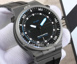 Wholesale Gold Mens Divers Watch - High Quality Cheap New Brand Luxury New Racing Design Diver P'6780 P6780 Black Dial Automatic Mens Watch Rubber Strap Gent Sport Wathes