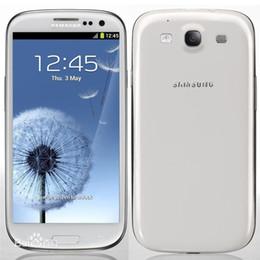 Wholesale S3 Lte - Refurbished Original Samsung Galaxy S3 i9300 i9305 4.8 inch HD Quad Core 1.4GHz GPS Wifi 3G WCDMA 4G LTE Unlocked Smart Phone Free DHL 5pcs