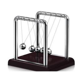 kinetische spielzeug Rabatt Klassische Newtons Cradle Kinetic Balls Executive pädagogisches Spielzeug Büro Desktop Gadget