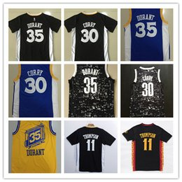 Wholesale Rugby Shirts Cheap - 2017 new high quality Man Cheap DURANT #35 CURRY #30 Rugby Jerseys Throwback Classic Current Sport Shirt Wear Camiseta de baloncesto