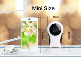 Wholesale Home Alarm Two - Z-BEN Wifi IP Camera P2P IR LED Night Vision HD1080P Audio Video Alarm Smart Home Baby Monitor Surveillnace Safety Fisheye Lens