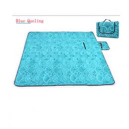 Wholesale Eva Sleeping Mats - Wholesale- Foldable Folding Sleeping Mattress Mat Pad Waterproof Aluminum Foil EVA Outdoor Camping Picnic mat Swimming Beach Blanket carpet