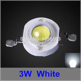 2020 lampara led cuentas blanco frio 200 Unids LED Chip Beads 3W 45mil 700ma Cool White LED de alta potencia Lámpara de fuente de luz Puro blanco frío 240lm 260lm Diodo emisor lampara led cuentas blanco frio baratos