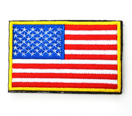 0e41f7e0dc6 American Flag + U.S.AMRY Tactical Patch Morale Patches Hook   Loop 3D 100% Embroidery  Badge Army Armband Badge free ship 888