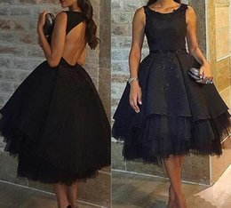 Wholesale fast delivery prom dresses - Tea Length 2017 Prom Dresses vestidos de noiva with Sleevelss formal evening gowns suruimei plant free shipping by fast delivery