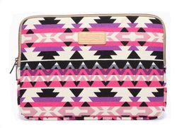 Wholesale Purple Macbook Pro 13 - purple Canvas Laptop sleeve case bag Cover For macbook notebook