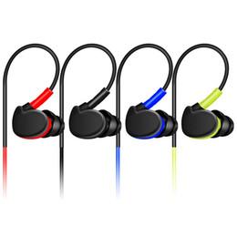 2019 monitores mp3 Auricular deportivo Deep Bass Profesional HIFI Auriculares Monitores Auriculares Con Micrófono para iphone huawei MP3 MP4 EAR208 monitores mp3 baratos
