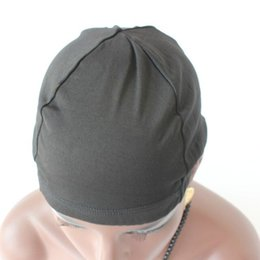 Wholesale Nice Caps - wig cap cheap and nice caps dome cap make wigs Dome Cap For hair extensions wigs Strech Hairnets Wig Caps