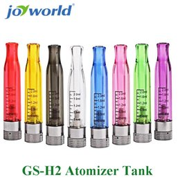 Wholesale Ego Vapor Atomizer - Wholesale- electronic smoking vapor cigarette evod blister kit ego gs H2 Atomizer tank for 510 atomizer stand e cig ego battery 15YY