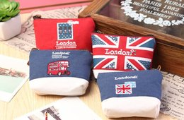 london cases Promo Codes - Wholesale- Novelty 4Models - Retro London 10CM Approx. Hand Coin Purse BAG Pouch ; Kid Girl's Pocket KEY BAG Pouch Case ; Gift BAG