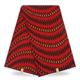 Wholesale Dress Fabric Textile - african dress african wax prints fabric textile patchwork 6yards cotton fabric patchwork fabric cotton wax 100%!DH003