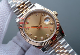 Wholesale Diamond Factory Supplier Watch - Factory Supplier Luxury AAA Brand Sapphire Diamond 41mm 126333 Automatic Mechanical Mens Men's Watch Watches top brand wristwatches