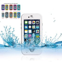 Wholesale Surfing Iphone Covers - Newest Redpepper shockproof Dustproof Waterproof case swimming surfing case cover for iPhone 6 plus 5.5 with retail box Fast shipping